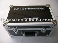 2015 aluminum black tool case ,new design equipment tool case for carry with strong handle and locks ,size for 500*350*180mm