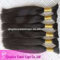 Alibaba China brazilian human hair bulk made in china and hair extension (ym-w-090)
