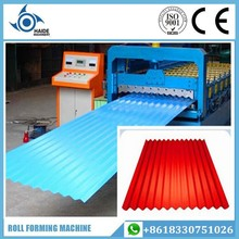Aluminium Roofing Sheet Corrugating Iron Sheet Making Machine,Cold Galvanizing Line
