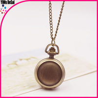 antique necklace watch wholesale can be customized photo pocket watch