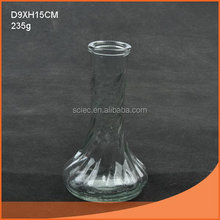 Customized hot sell star glass vase