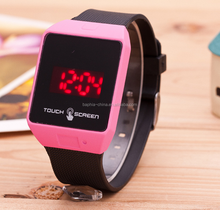 New Arrival Simple Silicone Unisex Mute LED Watches, Watch Manufacturer Supplier Exporter
