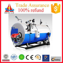 CE ISO BV certificate factory price trade assurance low pressure wns oil gas fired steam boiler