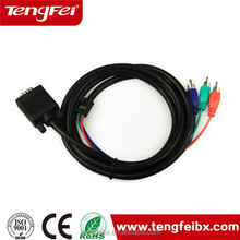 VGA to 3 RCA Component Cable for PC Laptop HD TV,TF-VGA_RCA