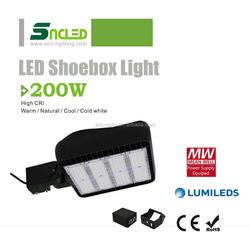 2016 New Product LED Shoebox Light 200w with High Lumens