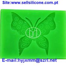 Matéria Prima de silicone moldes de renda para a decoração do bolo