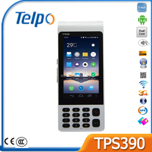 New Design Telpo TPS390 banking POS parking Barcode Scanner Payment Terminal Electronic