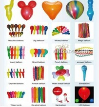China Promotional colorful animal balloon sets