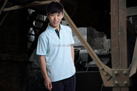 Wholesale polyester and cotton work polo shirt for men