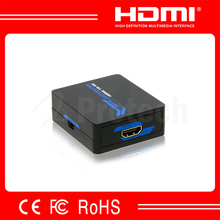 hdmi to av out converter box 1080p with small size av converter