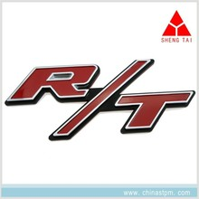 Customized Dodge charger challenger RT R/T 3D car emblem, car grille emblem badge, adhesive car decal