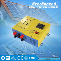 EverExceed home solar electricity generation system with Built-in Solar Controller