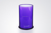 Purle color rounded Acrylic knife block 11*12.5*18cm