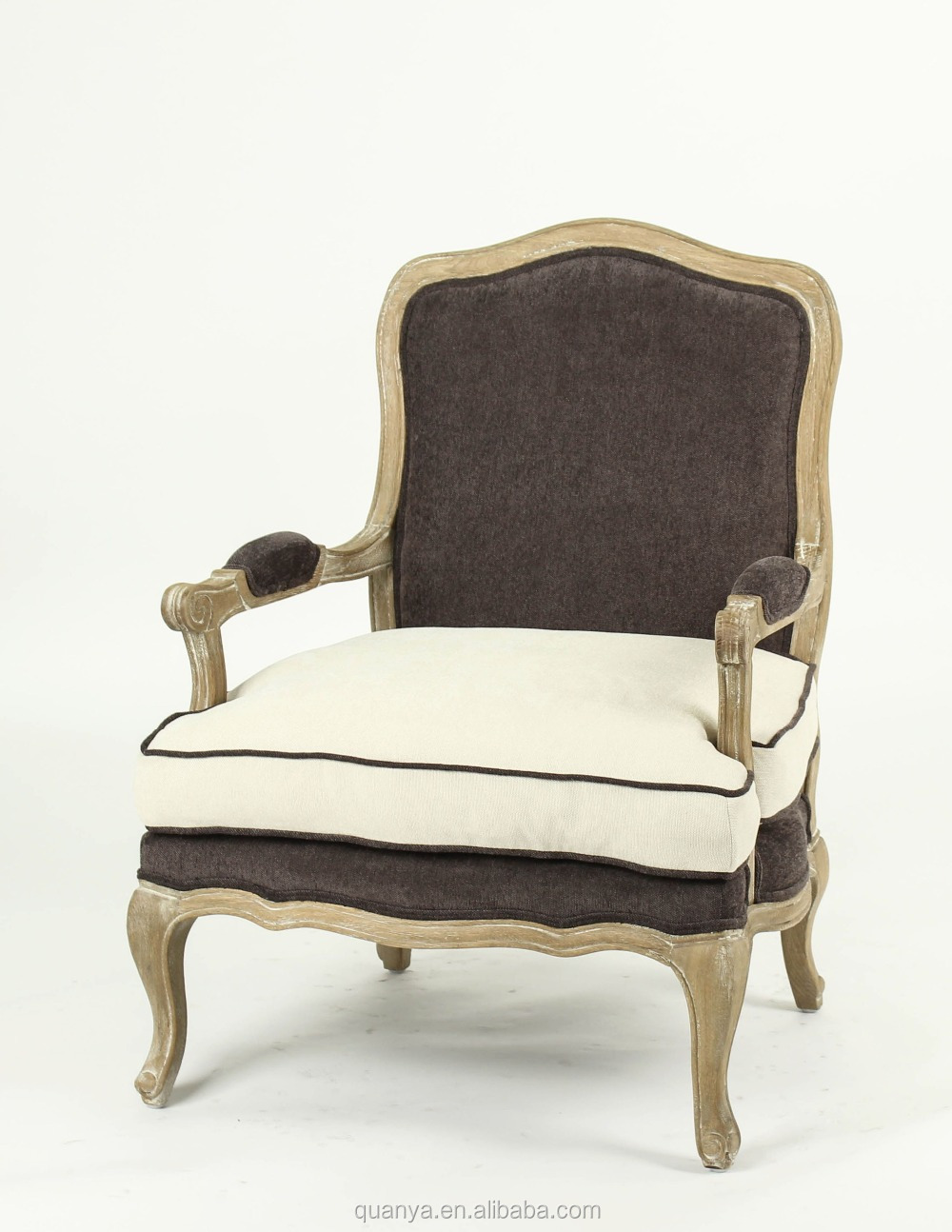 Fabric chair upholstered lounge chairs with birch frame for Living room upholstered chairs