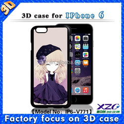 2016 plastic promotion gift under 1 dollar cute girl design 3D phone case for lenovo k3 note smartphone