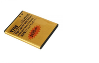 China supplier capacity phone Battery for samsung Galaxy S5820 W689 T759 I8150 S8600 S5690 Exhibit 4G Batterie Batterij Bateria