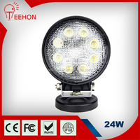 2015 Teehon 9-32v Marine Motorcycle Agriculture Machinery Auto Lights Promotion 24W LED Work Lights