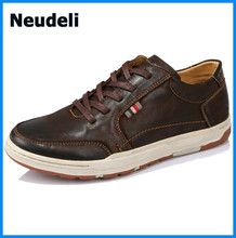 2015 Fashion Casual New Style Shoes Men Shoe Real Leather Men Sneakers Shoes