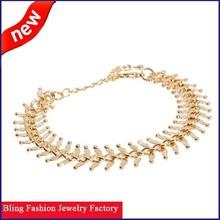 2015 hot new products high quality lady new fashion bone fish bracelets