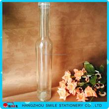 Factory selling super flint clear glass bottle for oil or vinegar