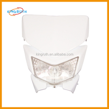 wholesale motorcycle parts for white headlight cover