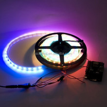 LED dream color strip,WS2812B Addressable Color LED Light Strip 60 Pixel 5050 RGB SMD WS2811 IC