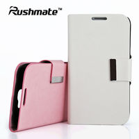 For Samsung Galaxy Note2 N7100 Protector White PU Leather Cover SKIN Case
