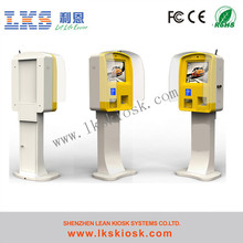Water Proof Kiosk Outdoor Payment Kiosk With Thermal Printer