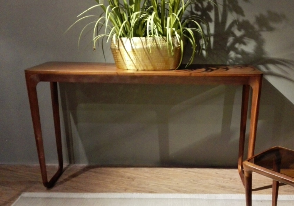 Antique Console Table Living Room Solid Walnut Wooden Console Table Classic C