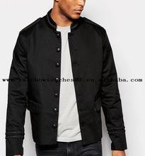 2016 mens custom Band black mens puffer jacket