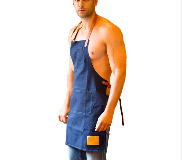 heavy duty durabloe barbecue denim tablier pour hommes tablier id de produit 60441704919 french. Black Bedroom Furniture Sets. Home Design Ideas