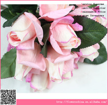artificial latex rose, high quality real touch artificial flowers