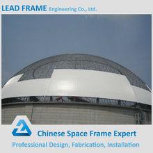 galvanizado de la estructura del marco del espacio de acero estructura de cúpula
