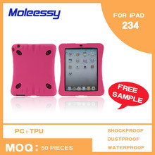 Lady style 2 in 1 carry case for ipad 2 3 4