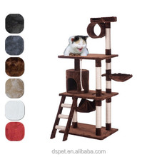 "Dspet 38""W x 27""L x 62""H Cat Tree Condo Cat House Furnitures Sisal Scratching Post pet products modern house design"