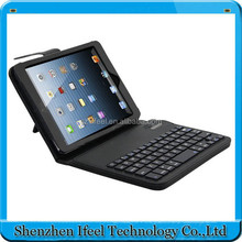 PU Leather Wireless Bluetooth Remote Keyboard Case Cover For iPad Mini 1/2/3