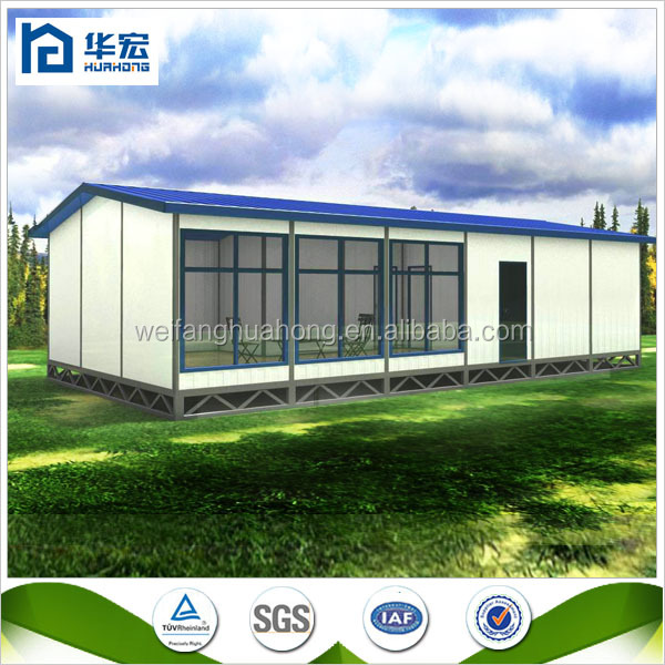 Low Cost Prefab House Construction Prefabricated House