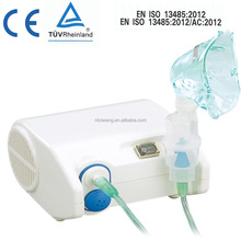 Durable and reliable design ensures years of use from this compressor nebulizer