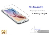 Trade assurance 95% transparency glass screen protector for samsung S6
