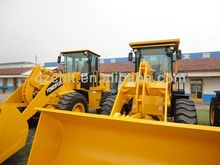 Chinese brand 3000kg articulated wheel loader SAM836 with Cummins engine for sale