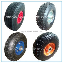 Cheap wagon cart 4.10/3.50-4 small inflatable wheel tyre 10 inch