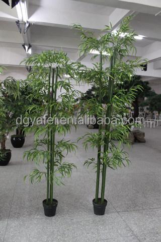 Factory direct mini artificielle en pot de bambou for Faux bambou