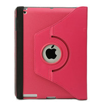 for ipad air 360 rotating stand leather case