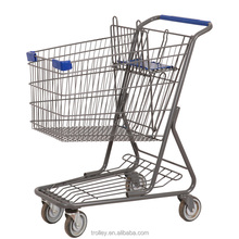 Popular American Metal Supermarket Cart