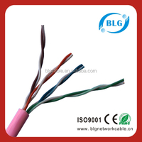 cat5e copper cable price per meter with good quality and service