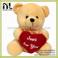 Christmas Toy New Year 2014 Gift stuffed bear Plush Toy