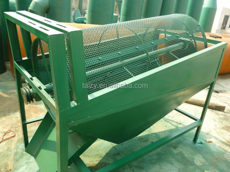 rotary screening machine