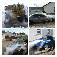 mobile no boiler 30 bar 2 guns diesel vapor cleaner/steam auto interior cleaning
