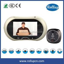 smart home battery plug power source video door phone,SIM smart gsm doorbell