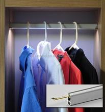 High brighness Optional size Aluminum 7W led sensor wardrobe light